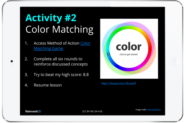 reinvented web color lesson
