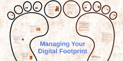 Digital guide: web identity management
