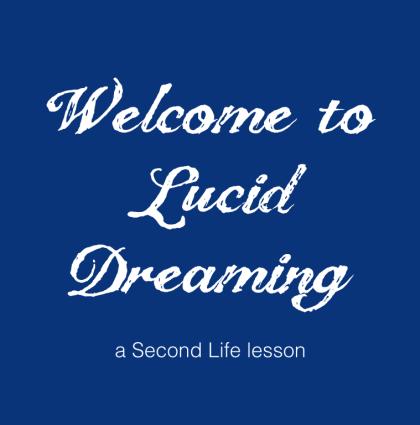 Virtual world lesson